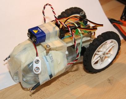 Min første robot – LDRbot