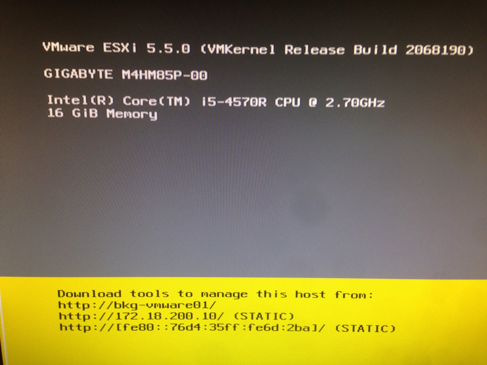 VMware ESXi on Gigabyte Brix – Create Custom Image